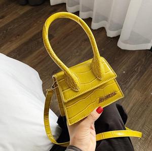 Die heißeste Marke empfohlen Damen Mini Umhängetasche Designer Stein Muster Normallack Art und Weise netter Handy-Münzengeldbeutel freies Verschiffen