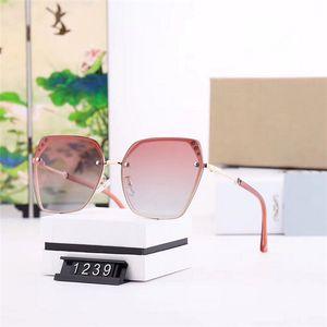 3 perla con incrustaciones de gafas de sol de alta gama nueva atmósfera gran caja polarizadas polaroid súper claras gafas de sol polarizadas modelos: 1239