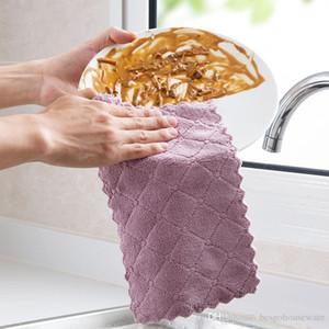 المطبخ تنظيف المسح الخرق الصحن امتصاص المياه تنظيف الملابس مكافحة الشحوم صحن القماش ستوكات اللون غسل منشفة ماجيك BC BH1022