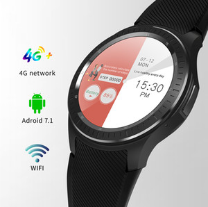Dm368plus smart watch full circle touch screen Android 4G call WiFi step GPS heart rate sleep monitoring