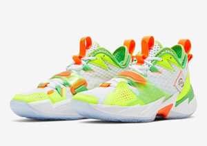 Jumpman ¿Por qué no Zer 0,3 Splash Zone hombres zapatos de baloncesto Zer0.3 LA Born zapatillas con caja envío gratis