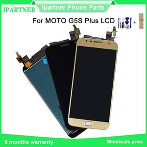 5.5inch LCD für Motorola Moto G5S Plus-LCD-Anzeigen-Screen-XT1802 XT1803 XT1805 XT1086 Digitizer Montageteile 100% geprüft