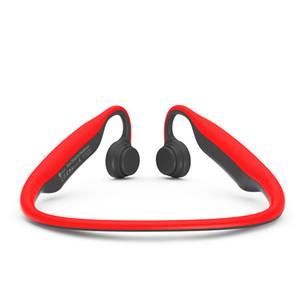 2019 Sweatproof HD Stereo Wireless Headset for Sports, Driving, Bone Conduction Open Back Noise Cancelling Earphones
