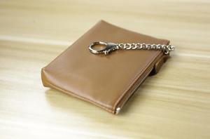 Incredibile qualità Molti colori Key Pouch zip Portafoglio moneta vera pelle Portafogli Damier Ebene donne progettista di marca mini ragazze borsa scatola