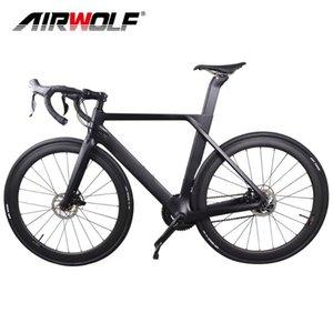 원래 그룹 셋, 50mm 탄소 바퀴, 22 속도 디스크 자전거 도로와 전체 탄소 섬유 도로 자전거 경주 자전거