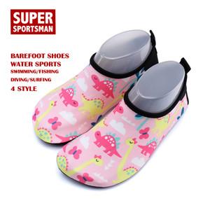 Çocuk Dinozor Su Sporları Erkekler Kadınlar Barefoot Çocuk Boy Açık Sneaker Bebek Kız Sandalet Baby Beach Yaz Terlik Ayakkabı