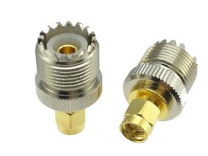 UHF SO239 PL259 a Spina maschio SMA Jack femminile coassiale RF adattatore del connettore