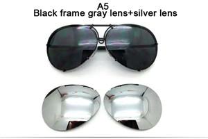 2019 occhiali da sole intercambiabili 8478 di vendita calda occhiali sostituibili occhiali da sole aeronautici protezione UV400 moda uomini o donne