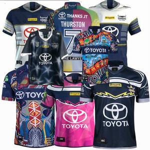 2018 2019 2020 2021 Cowboys 25 anni edizione souvenir di rugby maglie NRL Rugby League maglia Cowboy 19 20 21 magliette S-5XL