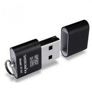 Mini USB 2.0 Scheda di memoria micro SD TF del T-Flash di memoria flash adattatore del lettore di Flash Drive SD nero all'ingrosso