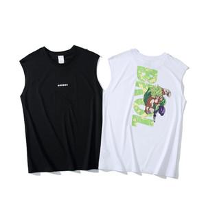 летний бренд жилет Japan Harajuku Tide brand Ape Head майки Спорт на открытом воздухе удобные дышащие без рукавов дизайнерские уличные хип-хоп тройники