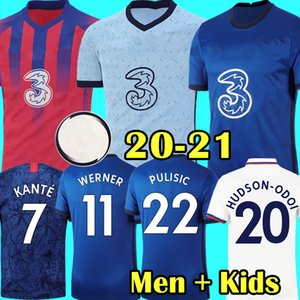 Chelsea 2020 2021 camiseta de fútbol negra JORGINHO LAMPARD GIROUD camiseta de fútbol KOVACIC Camiseta WILLIAN 20 21 HUDSON ODOI KANTE maillot de foot
