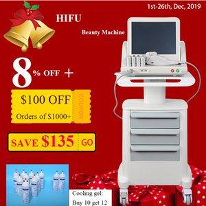 Medical Grade HIFU High Intensity Focused Ultrasound HIFU Face Lift Máquina da remoção do enrugamento Com 5 Heads para rosto e corpo 2020