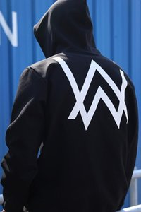 Alan Walker Ünlü Stil Elektronik Müzik Erkekler ve kadınlar-Kapşonlu Kazak Çiftler Hoodie Moda Soluk