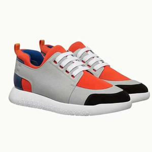 Chaussures décontractées pour dames de designer de chaussures en cuir pour hommes