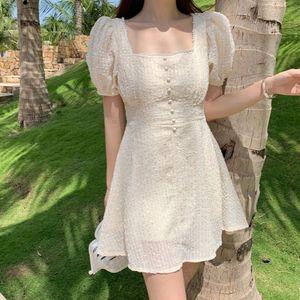 2020 Summer Women Chiffon Embroidery Dress Women Mini Summer a Line Vestido Ropa Mujer Corto Party Robe Boho Beach Festa Sun Ladies Dresses