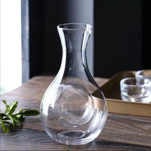 Творческий Японский Стеклянная Бутылка Thumb Hole Sake Glass Керлинг Хомяк Гнездо Холодильная Комната Вино Pourers Графиновый Набор