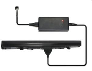 도시바 PA5076R-1BRS PA5076U-1BRS를위한 외부 노트북 배터리 충전기 PA5077U-1BRS PABAS268 PABAS269