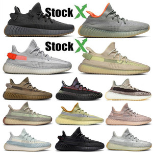 2020 Kanye West Earth Desert Sage Cinder Zyon Linen Tail Light Lens Gid Black State 3M светоотражающие Yecheil Мужчины Женщины кроссовки