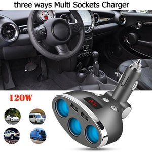 عالمي ثنائي USB ميناء 12-24V شاحن سيارة محول سريع للماء شحن المقبس الفاصل شاحن محول الهاتف الذكي