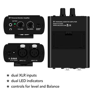 Ear Monitor Headphone Amplifier In-ear Monitoring System for Stage