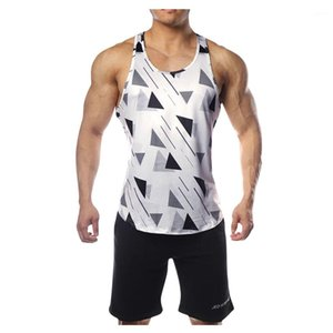 Mens Tank Breathable Sport Fitness Male Unserwear Summer Casual Fashion Mens Tank Tops Camouflage Quick Dry