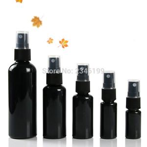 Frasco plástico do pulverizador 60ml Esvaziar Preto Bomba de spray frasco de 50ml spray 20ml Bottle 30ml Esvaziar 50pcs 100ml plástico recipiente cosmético