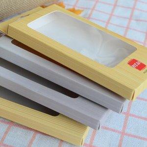 Scatole di imballaggio di imballaggio di vendita al dettaglio di carta di legno di grano Blister per PU Custodia in pelle per iPhone XR XS Max X 8 Galaxy S9 S10e