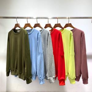 top moda europea famoso designer retrò uomini maglione maglioni traspirante protezione solare Braccio Lettera ricamo Sticker cime asiatico dimensioni