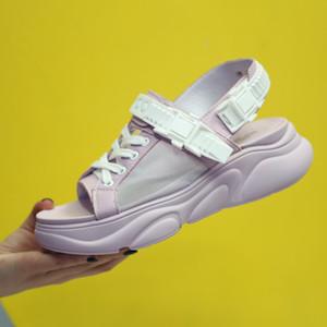 Crystal2019 Wind Rome Havalandırma Tüm Maç. Motion Ins Kalın Beden Kadın Sandalet