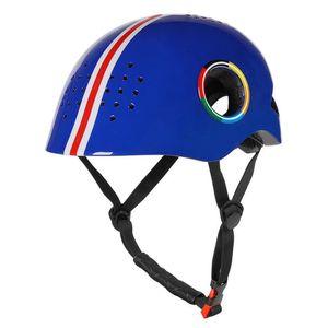 equipos Glorystar motorista al aire libre Ciclismo Casco de la bicicleta de la polea del monopatín con el casco ligero de la PC + EPS ciclismo