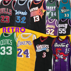 Vince Carter 15 Jersey Larry Bird 33 Allen Iverson 3 LeBron James Hill Subvención 23 Allen Earvin Johnson Ray Steve Nash Jason OrlandoMagics