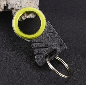 Al aire libre solo dedo afilado Twine cuchillo cortador cuerda de corte cuchillo gancho EDC Kit coche Gadget rescate de emergencia que acampa herramienta de supervivencia