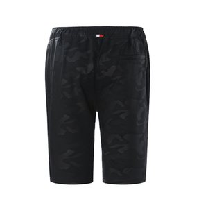 HOT2018 Outdoor Summer Camoflage Drawstring straight elastic waist sport Jogging Running training shorts men Plus size 4XL