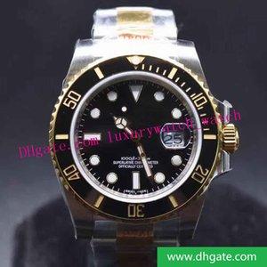Best Quality luxury watches N super SUB waterproof Fashion 2836-3135 movement watches 904L refined steel 40mm of diameter designer watch
