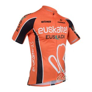 EUSKALTEL team Cycling Short Sleeves jersey 2020 Full Zipper Bike Clothing Outdoor sports Comfortable mens clothes C616-18