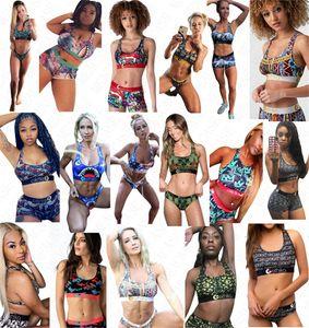 Boutique Women Designer Letter print Swimsuit Tank Vest Push Up Bra + Shorts Swim Trunks 2 piece Bikini Set Tankinis Sexy Swimwear D61808