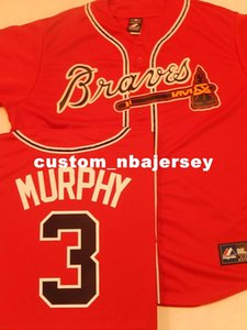 Cheap custom DALE MURPHY Sewn Baseball JERSEY New RED Stitched Customize any name number MEN WOMEN BASEBALL JERSEY XS-5XL