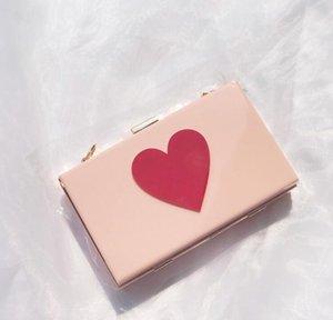 Designer Frauen Flap Hangbag Luxuxdame-Ketten-Schulter-Beutel-Art Helle Herzen Taschen Einfach Qualitäts-Beutel / 5