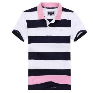 2020 Nouveau été Eden Park Polo hommes Streching polo hommes en coton rayé chemises comfortbale style mode loisirs d'affaires Navire rapide grande taille