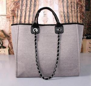 4 cor bolsa de Compras de lona mulheres bolsa de ombro clássico de alta qualidade marca designer de moda de luxo famoso frete grátis