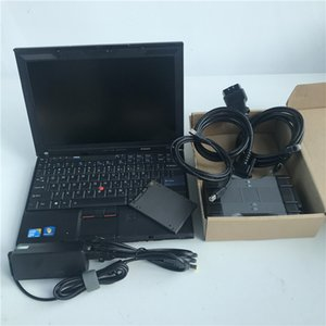 top quality mb star c6 diagnose scanner with soft-ware hdd ssd used laptop x201 C6 CAN DOIP Protocol Diagnostic Tool full set