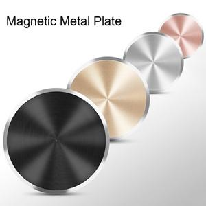 2019 Aufkleber auf Magnetic Car Holder für Honor 7a 7c Pro 9 Lite-Blech für Mount Magnet Holder auf Huawei P8 P20 Lite