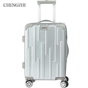 """CHENGZHI20""""24inch high quality PC rolling luggage suitcase boarding case travel luggage spinner trolley suitcase on wheel"""