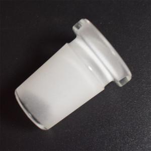 De calidad superior vaso boquilla de la pipa de 18 mm adaptador macho a hembra de 14 mm Conector Reductor de hendidura difusor para el adaptador de tubo de agua de cristal Bongs