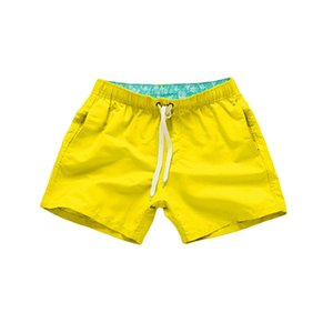 Quick Dry Casual Shorts For Men Man Beach Shorts Men's Summer With Pockets Fitness Exercise Lace-up