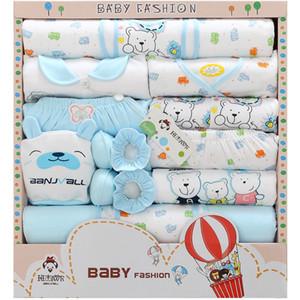 Mignon Nouveau-né Vêtements de bébé Style 5 Coton Vêtements de bébé Achats en ligne Meilleur nouveau-né bébé Coffret cadeau 18020302 Drop Shipping