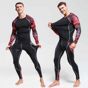 2019 New hiver d'homme Sous-vêtements Thermiques élastique Réchauffez Toison Long Johns pour hommes Polartec Respirant Suits Sous-vêtements thermiques