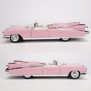 Meritor 1: 18 Modelo de aleación modelo de coche modelo de la figura Car Collection 1959 Cadillac de Elvis Classic