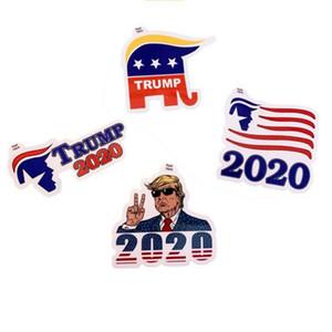 Donald Trump Etiqueta Trump 2020 4 Estilos Adesivo Decoração Adesivo Adesivos para carros Janela porta da geladeira Notebook etiqueta do carro OOA7904